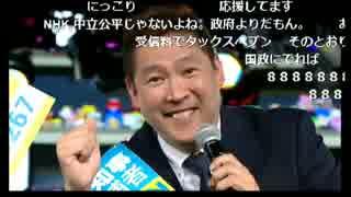 【東京都知事選2016】立花孝志「NHKをぶっ壊す!」【ノーカットコメ付】