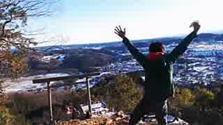2016年01月19日 雪の日和田山から雪の巾着田を見てみたい