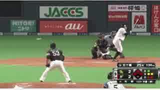 サヨナラデットボールで完全勝利した代打・矢野謙次UC