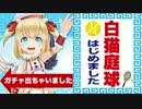 【実況】白猫テニス開幕!!いきなり、レア出ちゃいました…。【白猫】