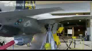 【リーク】F-35B試作1号機、『専用ガンポ