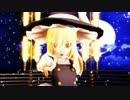 【第17回MMD杯本選】BadApple!!【影絵】を背景に踊ってもらった【東方MMD】