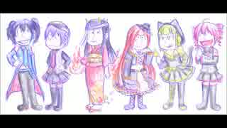 【UTAU カバー】おそ松さんOP/全力バタンキュー【6人】