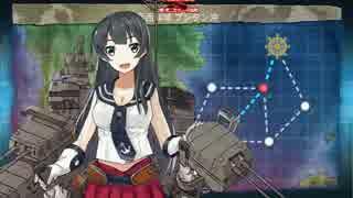 艦これ 16夏イベ E-1甲クリア Lv155第六駆逐隊 先制対潜6