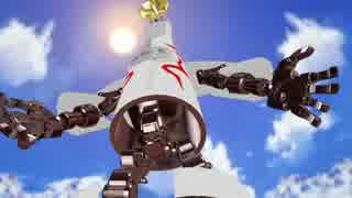 【第17回MMD杯本選】太陽の塔作ってみたんですが...