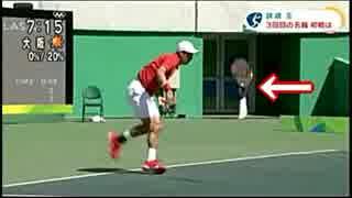 リオ五輪【テニス】錦織圭が、サーブで「