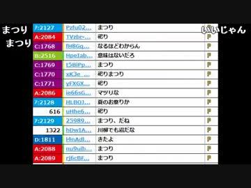 【ch】うんこちゃん『第2回ネモウスチャンネル川柳選手権』1/6【2016/08/15】