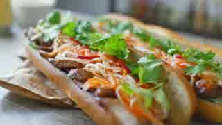 「音フェチ」ベトナム風サンドイッチ&quot