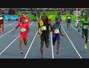【リオ五輪】男子400mリレー決勝にBGMつけてみた