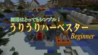 【Minecraft】 絶対に「全自動かぼちゃ畑」が作れる動画 初級編 【1.15】