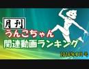 月刊うんこちゃん関連動画ランキング 2016年8月