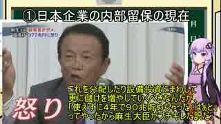 【ゆっくり経済学】日本企業の内部留保(377兆)【結月ゆかり】part8