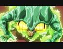 【ジョジョ】エコーズ誕生場面にデジモン進化BGMを付けてみた