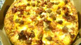 アメリカの食卓 599 ドミノピザバーガーを食す!【バーガー週間7】
