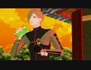 【MMD刀剣乱舞】 鶯丸で私鉄沿線 【懐メロモーション配布】