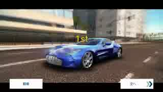 【Asphalt8】Aston Martin One-77 でマル