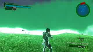 PC(steam)版 EDF(地球防衛軍)4.1 チート使用 プレイ動画18