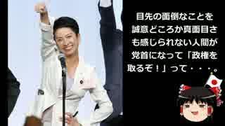 【ゆっくり保守】蓮舫民進党代表「台湾の方も応援してね!謝謝!」