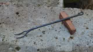 『鍛造』フォーク作れよって言われたから作ったよ。