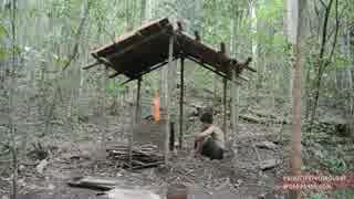 ホモと学ぶ丸瓦の小屋.Barrel Tiled Shed