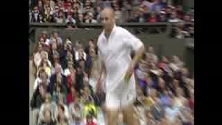 【テニス】対極のプレースタイル!!2000
