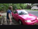 サイコ父さん ピンクの車を強奪する