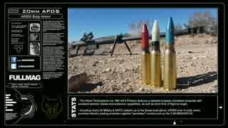 20mmライフル vs 防弾プレート