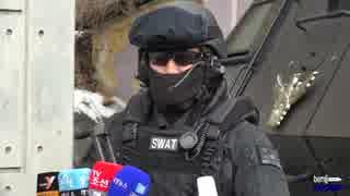 韓國SWATと特殊部隊の合同対テロ訓練映像