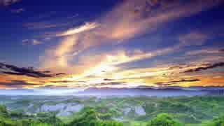 初音ミクオリジナル曲 「朝焼けフライト」