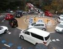 軽井沢町六本辻ラウンドアバウト渋滞