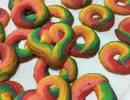 スイーツアート【レインボークッキーと悪魔色クッキー】作ってみた