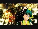 【MMD】ハレイムクラニ(金巫女霊夢)でドーナツホール【MUGENネタ】