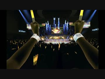 PlayStation Moveをコンサートライトに見立てて振る
