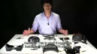 PlayStationVR分解動画