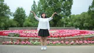 【雫】ロクベル踊ってみた【お花綺麗】