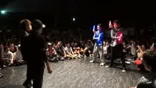 アニソン2on2ダンスバトル『あきばっか~の vol.10』BEST16第三試合