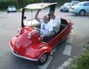 形がユニークな車 メッサーシュミット・KR200