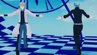 【SideMMD】雨彦とクリスで袖触れ合うも他