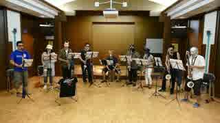 宇宙パトロールルル子OP曲をアルトクラアンサンブルで演奏してみた