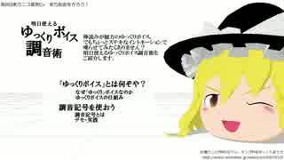 【第8回東方ニコ童祭Ex】明日使えるゆっくりボイス調音術 thumbnail