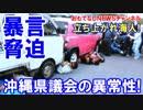 【パヨクの集まり沖縄県議会】 機動隊員の侮辱発言に厳重に抗議する!