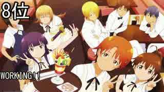[個人的] 年代別アニメランキング2010 Best10