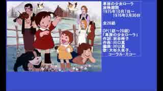 人気の「草原の少女ローラ」動画...