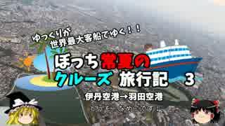 【ゆっくり】クルーズ旅行記 3 伊丹空