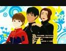 【ユーリ!!!onMMD】ピチットと光虹とレオでスキスキ絶頂症【モデル配布】