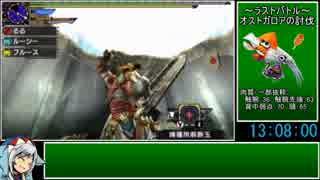 【ゆっくりMHX】集会所ソロRTA_part14(後