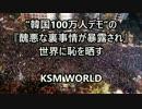 【KSM】韓国100万人デモの『醜悪な裏事情が暴露され』世界に恥を晒す