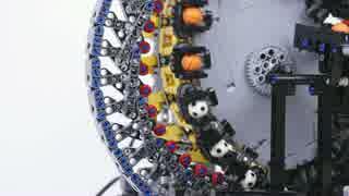 【LEGO】レゴの玉運び装置: 波動歯車
