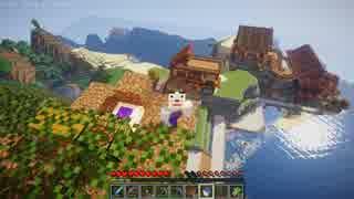 【minecraft】 ゆっくり島々を開拓するよ part20 【1.9.4】