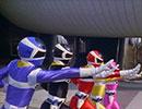 電磁戦隊メガレンジャー 第1話「ゆるすな! ねじれた侵略者」